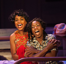 Color Purple - photo by Aaron Sutten for Virginia Rep