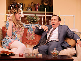 Last of the Red Hot Lovers - photo by Jay Paul for Virginia Rep