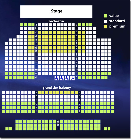 Hanover Theater Seating Chart Dining Room Seating Chart