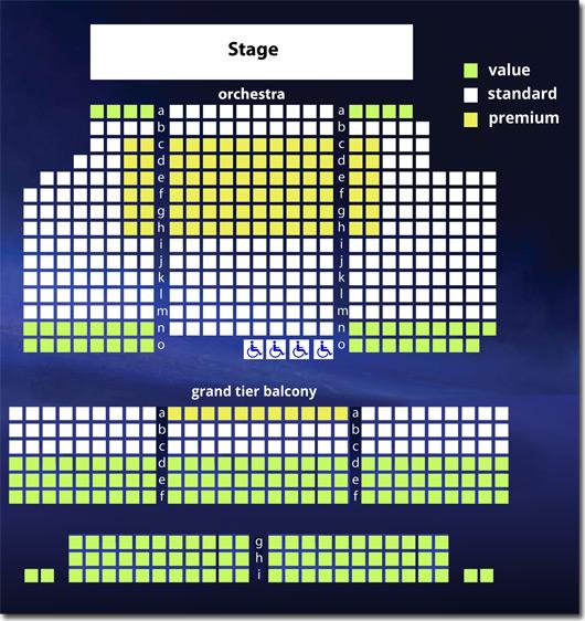 Virginia Rep November Theatre Seating Chart